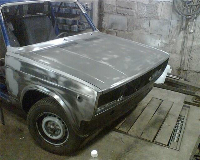 Шлифовка кузова ВАЗ 2104