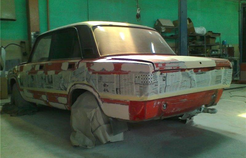 Подготовка к покраске ВАЗ 2105