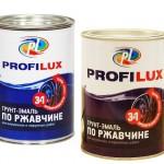 Краска Profilux 3 в 1: грунтуем, красим и ликвидируем ржавчину одним средством