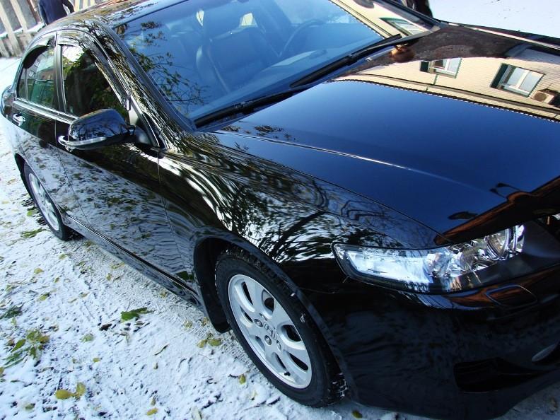 Авто после обработки жидким стеклом