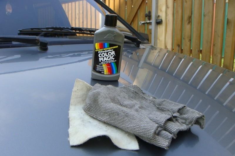 Чем лучше заполировать мелкие царапины на машине своими руками