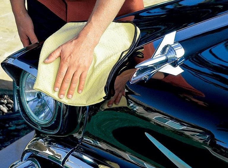 Восковое покрытие автомобиля своими руками