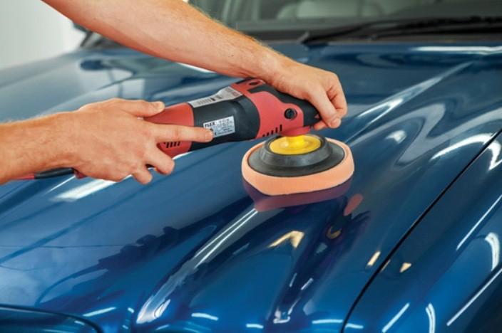 Косметическая полировка машины