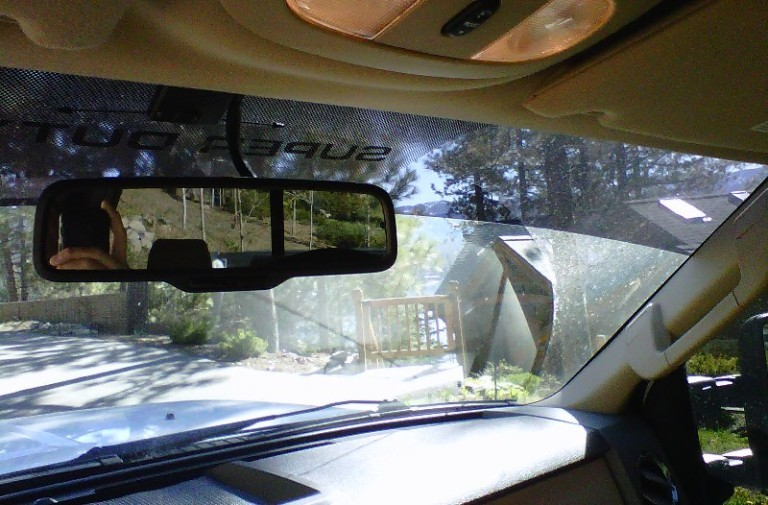 Солнцезащитная полоса на лобовое стекло