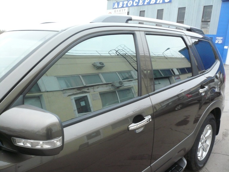 Тонировка на стеклах авто