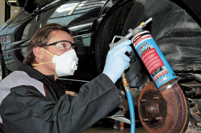 Антикоррозийная обработка кузова автомобиля
