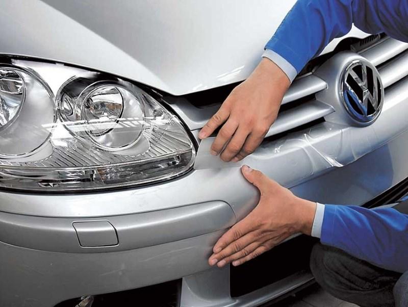 Как обтянуть пленкой авто своими руками