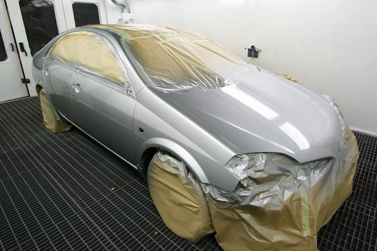 Авто, покрашенное в металлик