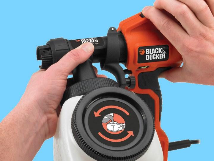 Краскопульт Black Decker HVLP 400