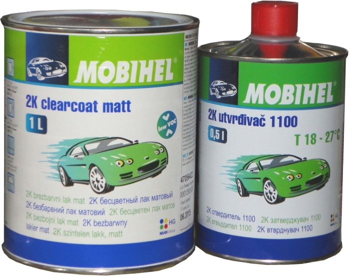 Матовый лак для авто Mobihel