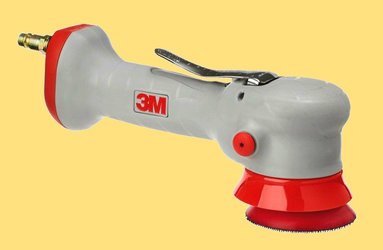 Пневматическая полировальная машинка