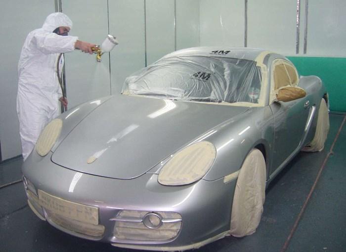 Покраска авто в перламутр