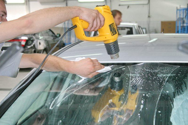 Бронирование пленкой лобового стекла