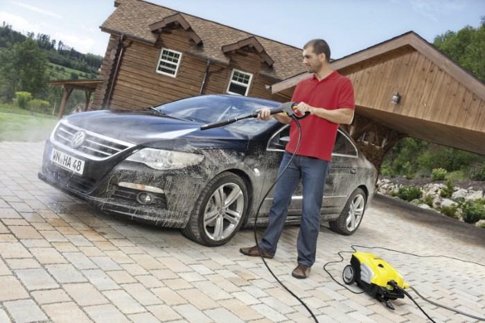 Мытье авто минимойкой