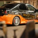 Нанесение аэрографии как способ преобразить свой Renault Logan