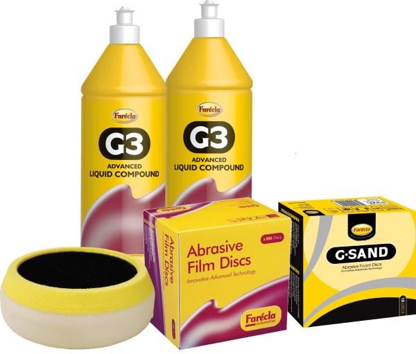 Полировальные составы Farecla G3 Liquid