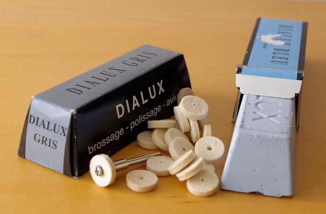 Паста Dialux и насадки для шлифовки и полировки