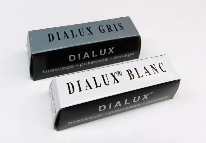 Полировальная паста Dialux белая и серая