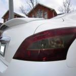 Чем можно затонировать задние фонари на автомобиле: пленкой или лаком?