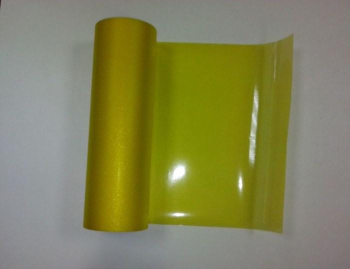 Желтая тонировочная пленка