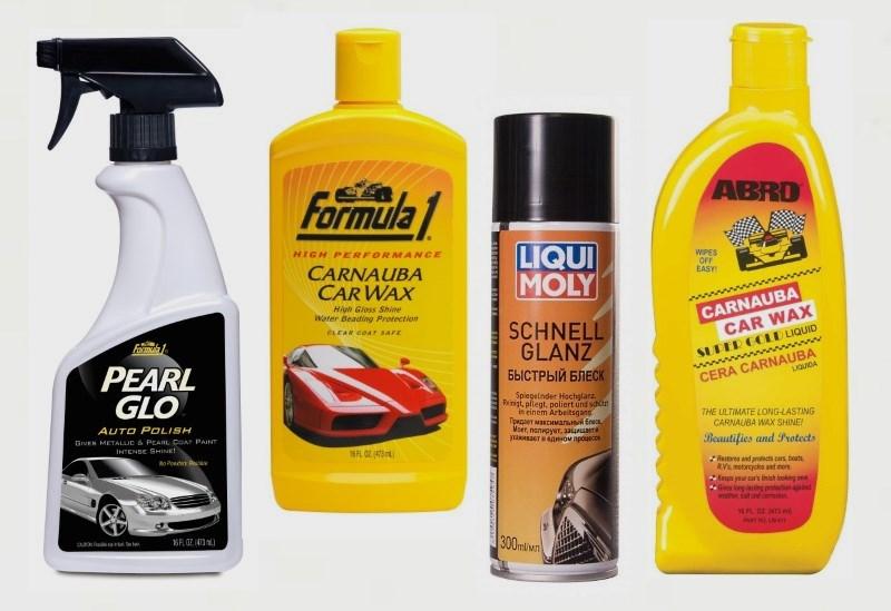 Жидкие полироли для авто