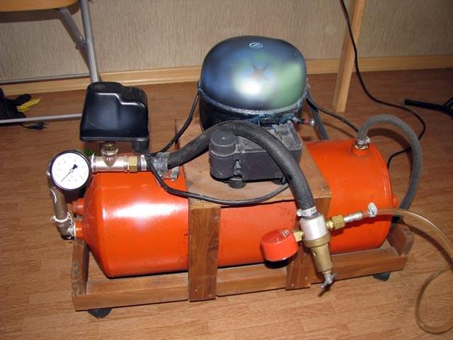 Воздушны компрессор своими руками