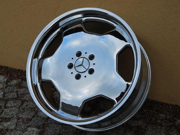 Колесные диски цвета хром