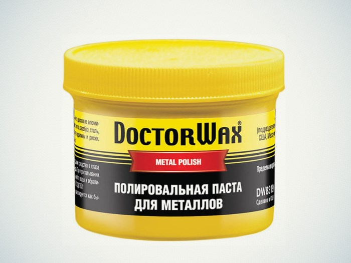 Полироль для металлов Доктор Вакс