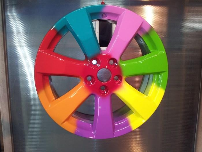 Порошковая краска на диске