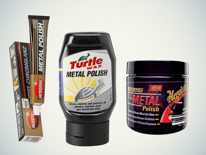 Пасты для полировки металла
