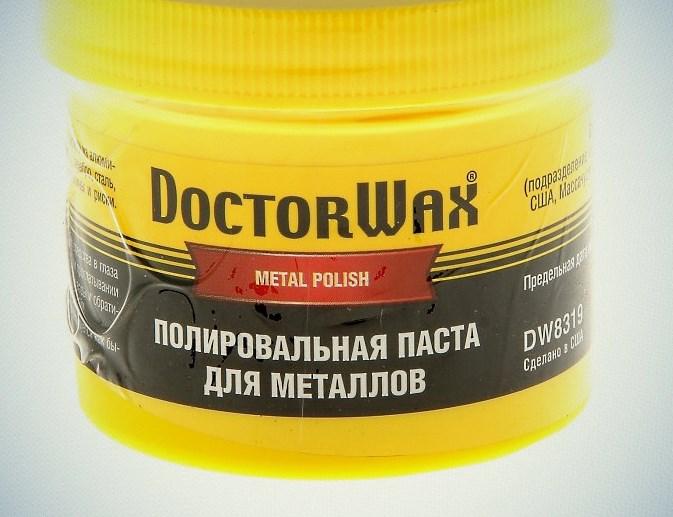 Полировальная паста Doctor Wax
