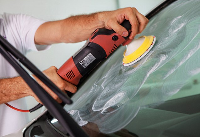 Полировка лобового стекла авто