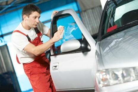 Полировка стекол автомобиля