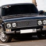 Особенности тонировки отечественного автомобиля Жигули 2106