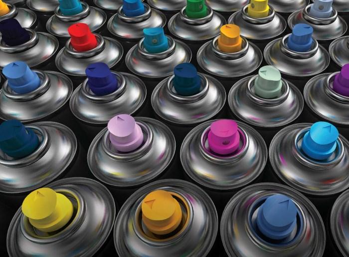 Краска в баллончиках
