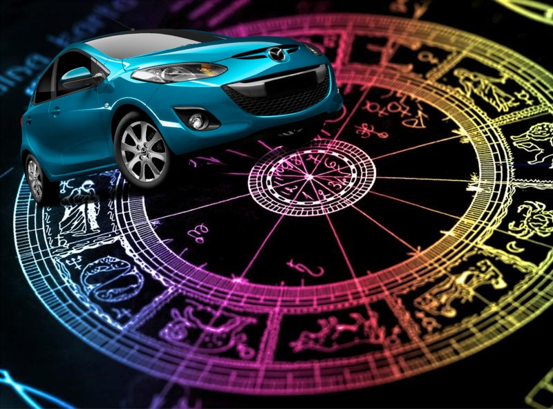 машины по знаком зодиака