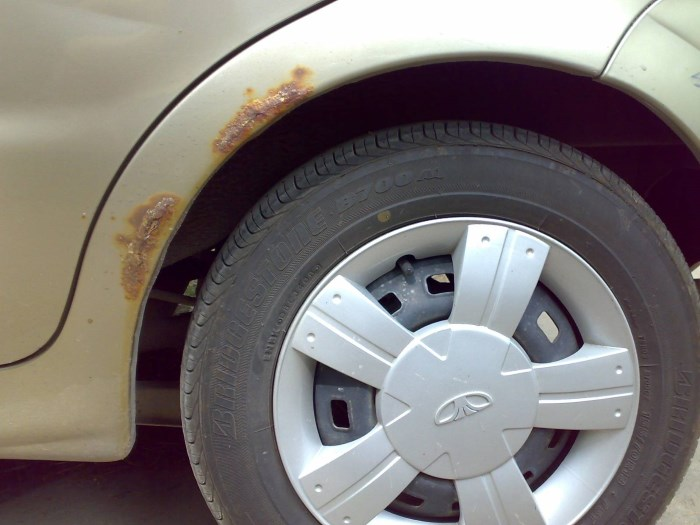 Коррозия на авто