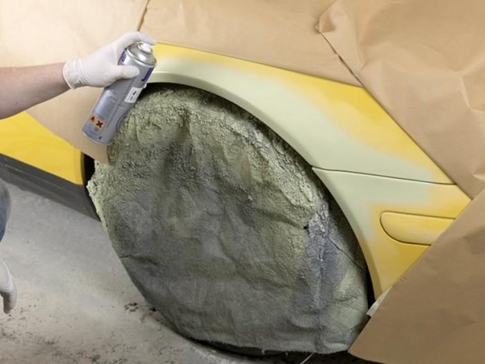 Покраска авто из баллончика