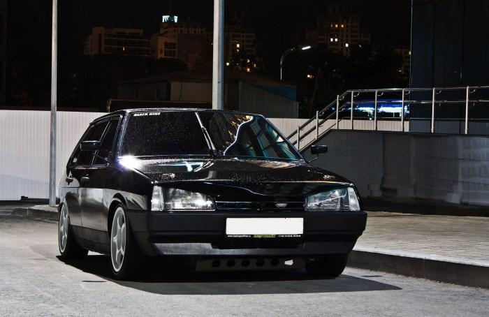 ВАЗ 2109 с тонировкой