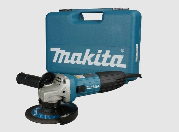 Угловая шлифовальная машинка Makita