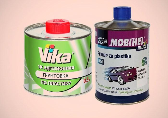 Автомобильный грунт по пластику