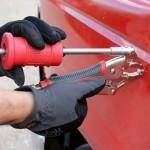 Как выправлять дефекты на кузове авто: самостоятельная рихтовка вмятин