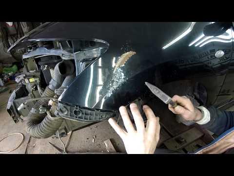 Как отрихтовать крыло авто в домашних условиях ваз 2107 - Интерьерный свет