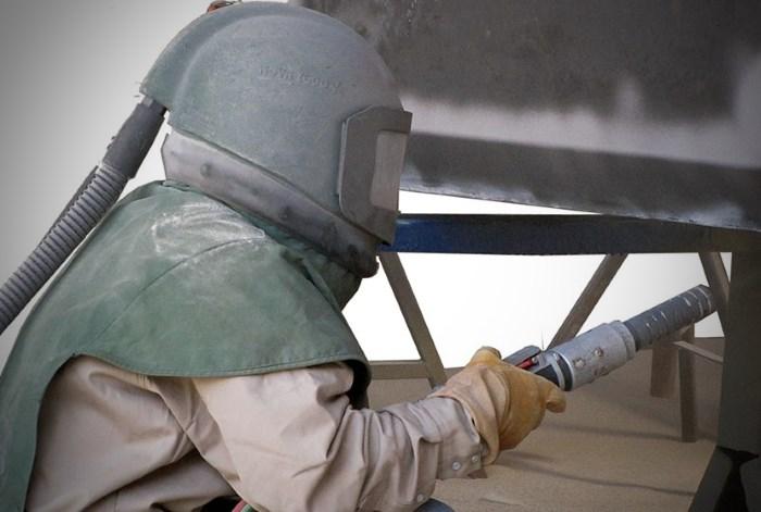 Защита пескоструйщика