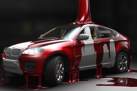 Акриловая краска для авто