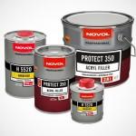 Автомобильные грунтовки на основе акрила: материалы от марки Novol