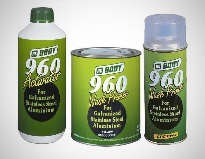Кислотная грунтовка Body 960 Wash Primer и активатор