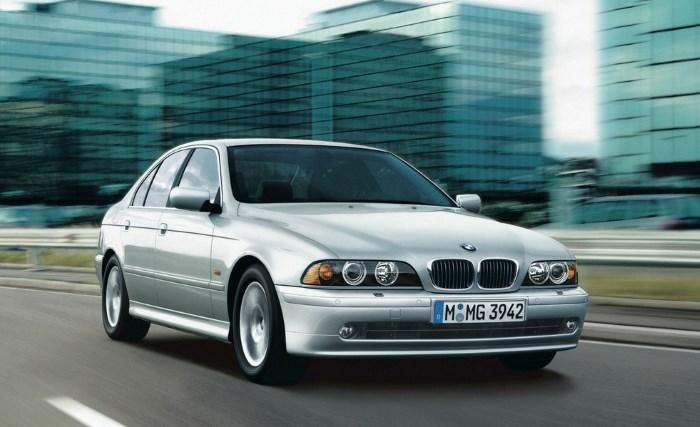 Автомобиль BMW Е39