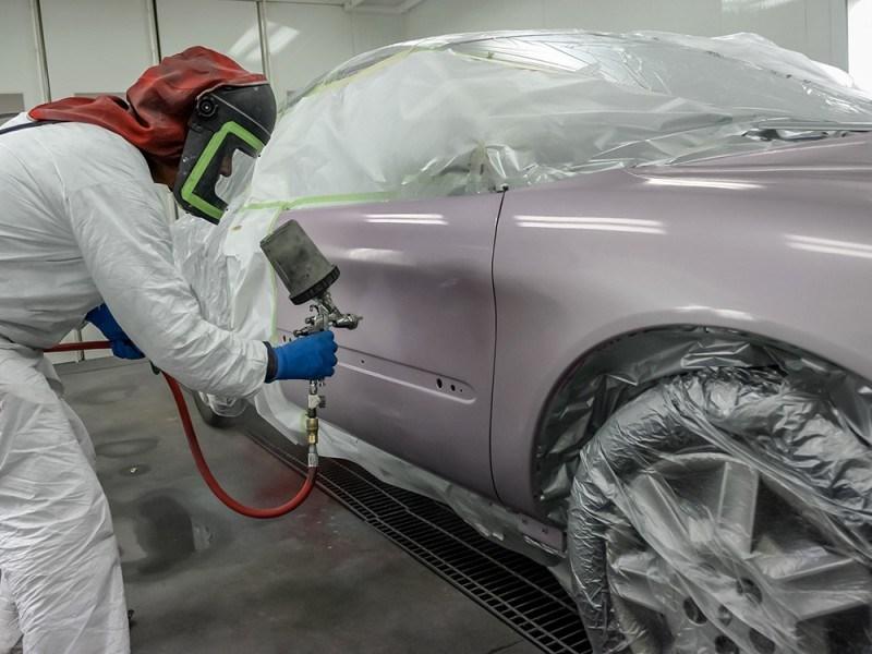 Покраска автомобиля и кузовные работы видео скачать