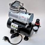 Тихий и бюджетный: компрессор для аэрографии jas 1203